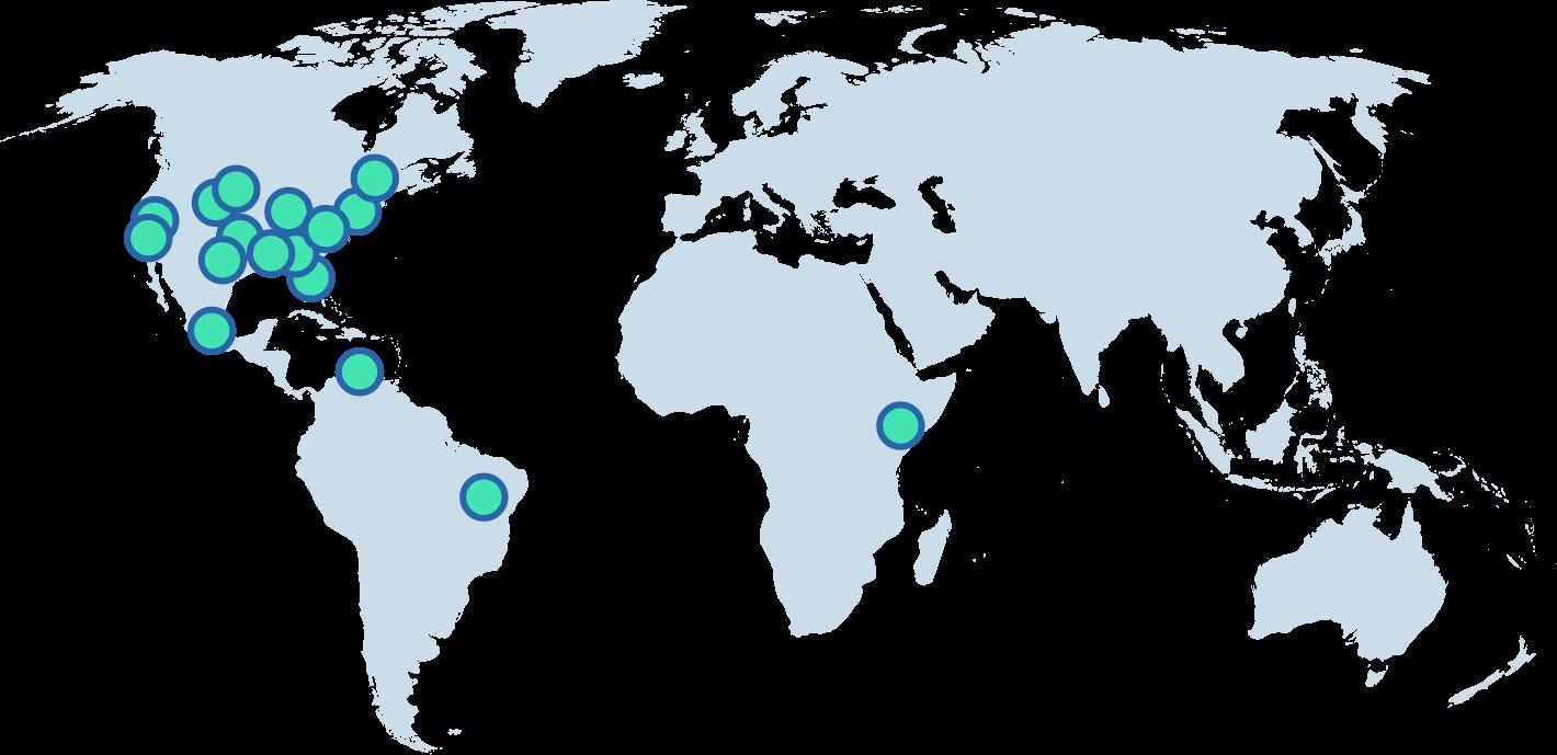 terrapass Projects Map